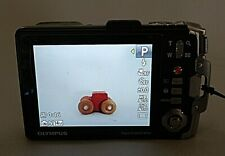 Olympus Tough TG-810 14.0MP Digital Camera - Black - Tested Works!  No SD Card