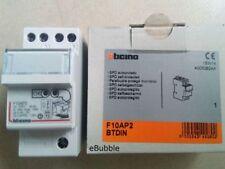 Bticino F10AP2 btdin - limitatore  autop 2P In10KA SCARICATORE SOVRATENZIONE