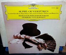 Suppe Ouverturen Overtures - Herbert Von Karajan (LP DG-2530-051) NM/NEW Italy