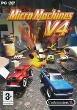 Micro Machines v4 - PC CD-ROM Racing Game - Brand New & Sealed