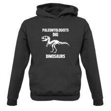 Paleontologists Dig Dinosaurs - Kids Hoodie Paleontology Dinosaur Science Fossil