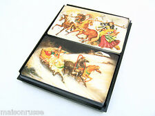 Playing Cards  *Russian Miniature Paintings *Troika