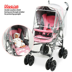 [Imperial] stroller cover / wind shield, rain cover, eye-protector for baby