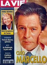 Rivista francese 1996:  MARCELLO MASTROIANNI_EMMA BONINO