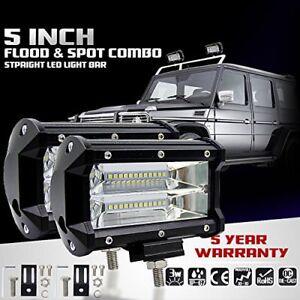 2pcs 72W Spotlight LED Offroad Work Light 12V 24V Car boat Truck Driving Lamp