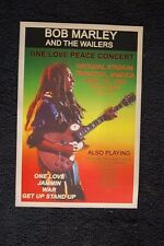 Bob Marley Tour Poster 1978 One Love Tour Kingston Jamaica