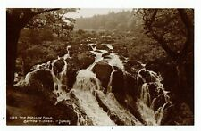 POST CARD REAL PHOTO THE SWALLOW FALLS BETTWS-Y-COED 1923
