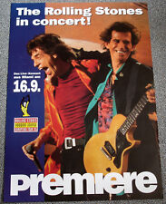 Poster Plakat - Rolling Stones in concert , Format: DIN A1