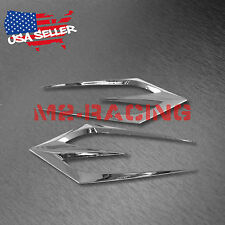 Universal ABS Chrome Air Fender Grill Body Side Vents Car SUV Sticker Decoration