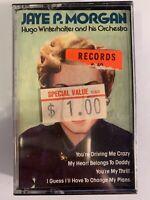 Jaye P. Morgan Hugo Winterhalter & His Orchestra (Cassette) New Sealed