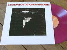 DAVID BOWIE Station to station  LP  VYNIL COULEUR