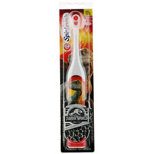 Spinbrush Kid's Jurassic World Battery Powered Soft Toothbrush by Arm & Hammer.