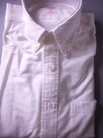 New! Brooks Brothers Shirt White Oxford BD Collar NWOT - Slim Fit ~ USA TB