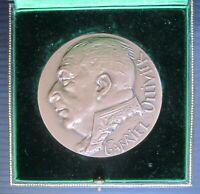 GABRIEL OLLIVIER medaglia in bronzo Ordre Souverain Malte SMOM Querolle Monaco