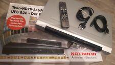 Kathrein UFS 922 silber,Twin HDTV-Sat-Receiver mit Festplatte,