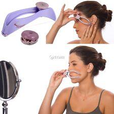 Facial Hair Remover Threading Epilator Defeatherer Spring DIY Beauty Makeup Tool