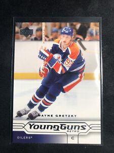 2004-05 Upper Deck #183 Wayne Gretzky Young Guns Retro Edmonton Oilers