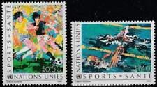 Nations Unies - Geneve postfris 1988 MNH 169-170 - Gezondheid door Sport