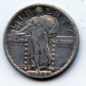 1918-p Standing liberty quarter (SEE PROMO)