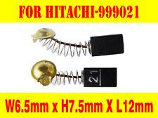New Carbon Brushes For Hitachi 999021 Grinder Drill Sander Planer 6.5X7.5X12mm