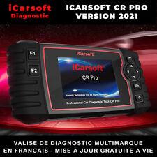 ICARSOFT CR PRO 2021- VALISE DIAGNOSTIC AUTO MULTIMARQUE OBD2 FR DIAGNOSTIQUE