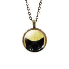 Lucky Collar De Gato Negro Gato Gatito Amantes Regalo UK