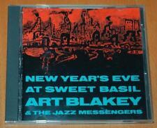Art Blakey & The Jazz Messengers - New Year's Eve At Sweet - 1985 Japanese CD