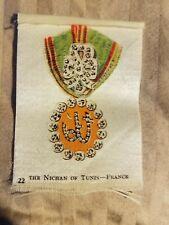 Vintage Tobacco silk silks The Nichan of Tunis France