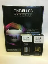 CND Shellac Professional LED Light Lamp 3C Technology New With Large top & base