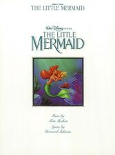 The Little Mermaid Sheet Music Piano Vocal Guitar Songbook NEW 000490238