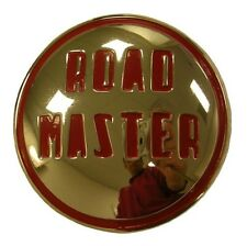 "1949 Buick Roadmaster Front Bumper ""Roadmaster"" Emblem Insert"