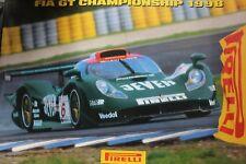 Poster FIA GT Championship 1998 Zakspeed Racing Porsche 911 GT1 1998 #6 (AK)