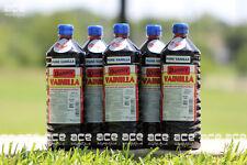 Five (5) Danncy Pure Mexican Vanilla Extract - Dark (1 Liter - Each)