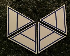 Four 30 Seconds to Mars Official Triad Stickers / Jared Leto