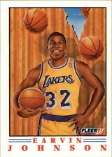 "Earvin ""Magic"" Johnson #6 - Fleers Pro Visions 1991/92 NBA Basketball Card"