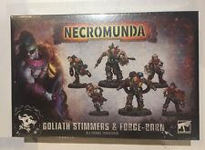 Necromunda Goliath Stimmers and Forge-born NEW