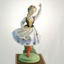 Royal Doulton Polish Dancer of the World HN2636 NEW IN BOX England Peggy Davies