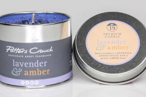 Potters Crouch - Candle Tin - Lavender and Amber