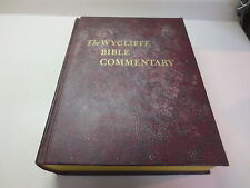 The Wycliffe Bible Commentary vintage 1964 Southwestern William Martin hardcover