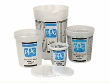 PPG DOX 251 1 Quart 32OZ Paint Mixing Cup With Lid - Qty-10 Ea.
