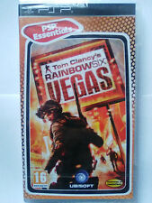 TOM CLANCY'S RAINBOW SIX VEGAS (ESSENTIALS). JUEGO PARA SONY PSP. NUEVO,PRECINT.