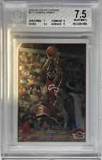 2003-04 Topps Chrome LeBron James RC Cavs Rookie BGS 7.5 Nr Mt Undergraded Redo?