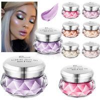Jelly Gel Highlighter Make Up Concealer Shimmer Face Glow Eyeshadow Glitter