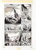 Adventurers #7  (1987) Page 1 Original Comic Art Peter Hsu ** Tolkien Hobbit