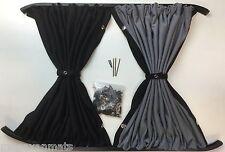 Vauxhall Vivaro Black Out Curtain To Fit  Sliding Door & Opposite Window