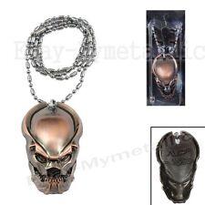 Movie AVP Alien vs Predator Predator Mask Pendant Necklace Red 009