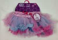 Wish I Was Dress-Up Tutu Pink Blue Fantasy Girls Costume Size 4-6X NEW