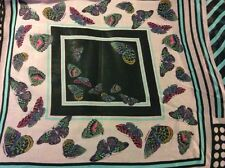 """Rare butterfly flower patchwork chiffon fabric, 58"""" wide, sold Bty"""