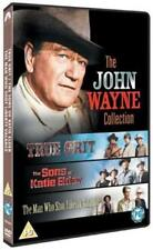 TRUE GRIT THE SONS OF KATIE ELDER THE MAN WHO SHOT LIBERTY VALANCE UK DVD NEW