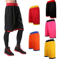 Men Basketball Running Shorts Quick Dry Training Fitness Sports Short Pants GYM